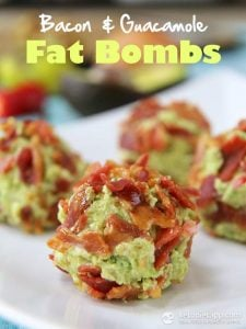 fat bombs with bacon and gauc make great keto fat snacks on the go