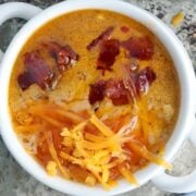 low carb bacon cheeseburger soup