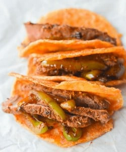 one of the top keto snacks on the go is something filling and can be a lunch like these steak mini tacos