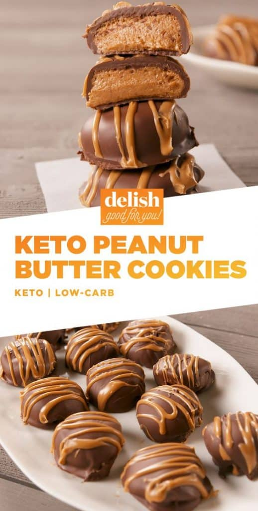 keto chocolate peanut butter cookies