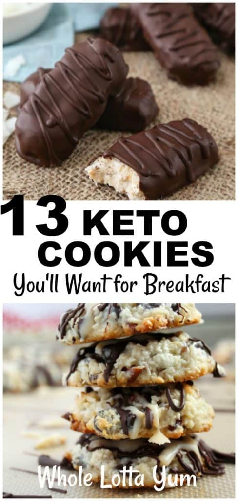18 keto cookie recipes so delicious you'll want them all day every day