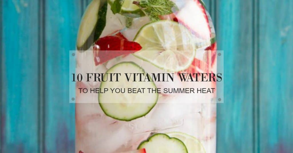 easy vitamin water recipes for detox