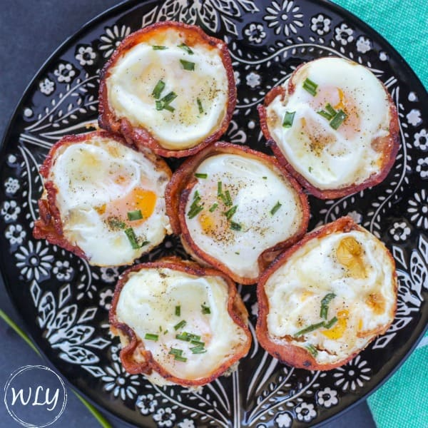 how to make low carb bacon and egg cups