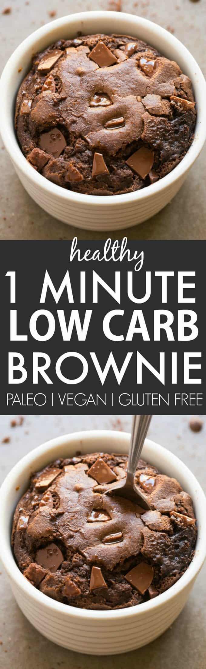low carb brownie mug cake recipe