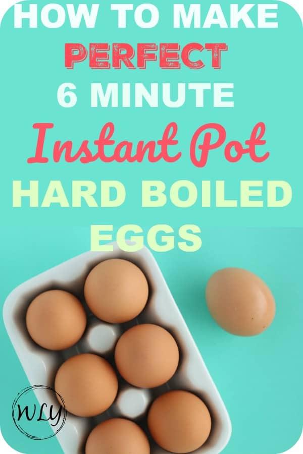 instant pot hard boiled eggs 5 5 5 pin for Pinterest