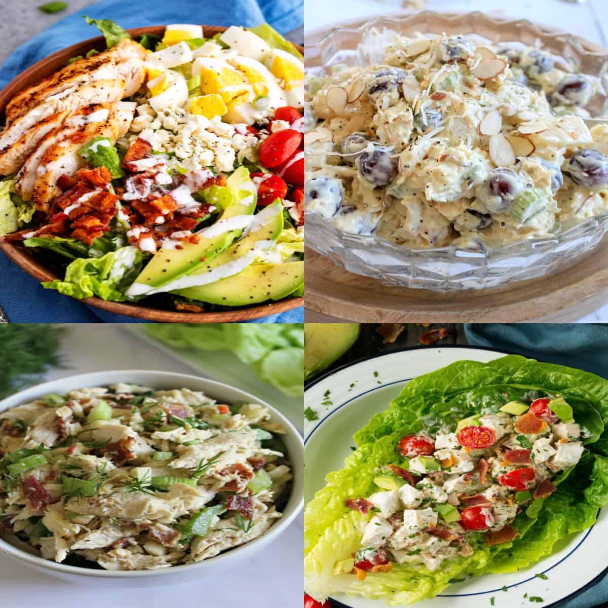 keto chicken salad ideas