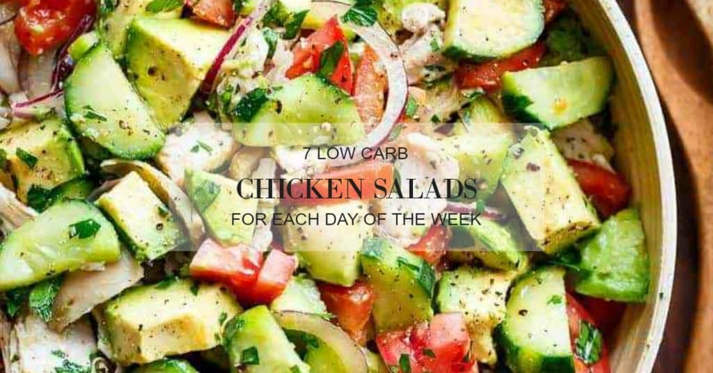 low carb chicken salad recipes for summer