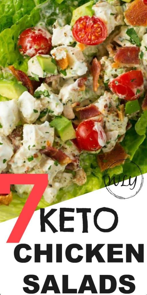 7 keto chicken salad recipes