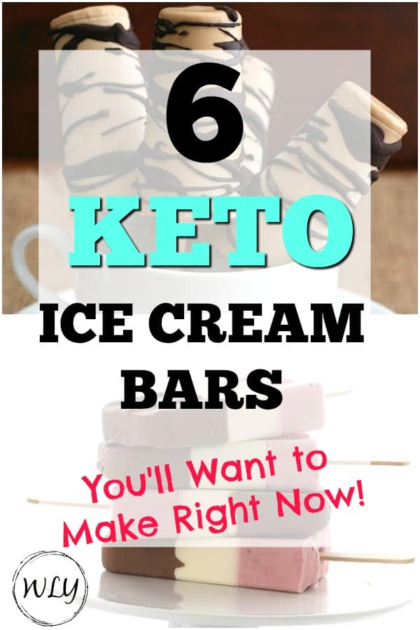 6 keto ice cream bar recipes
