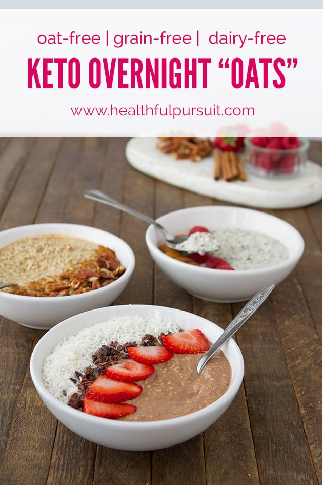 keto chocolate overnight oats