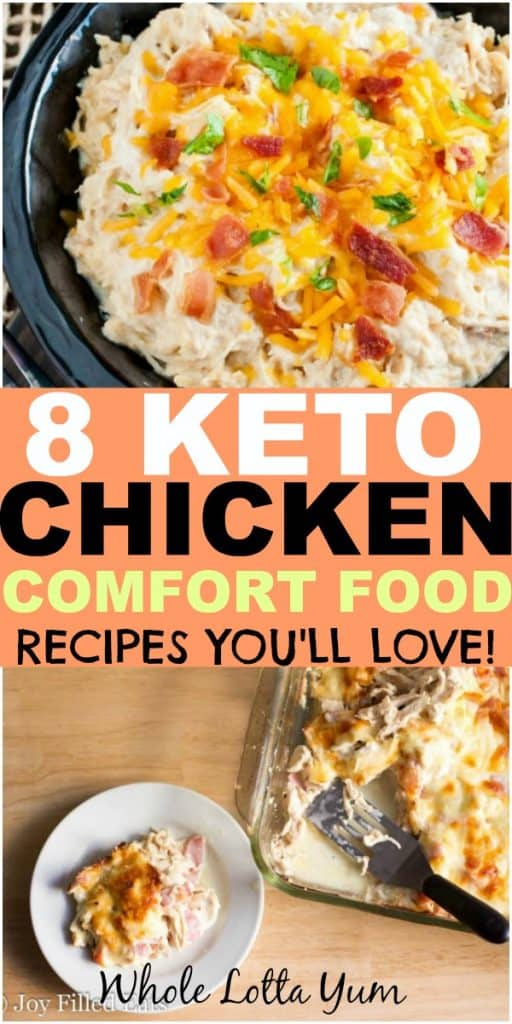 8 Easy Keto Chicken Dinners That Make The Perfect Healthy Comfort
