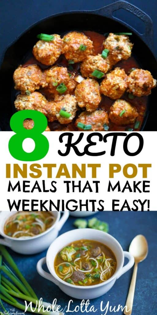 keto instant pot dinners