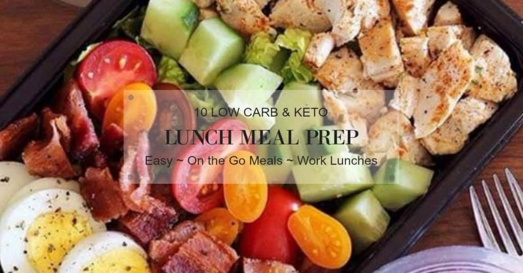 keto lunch meal prep ideas for work
