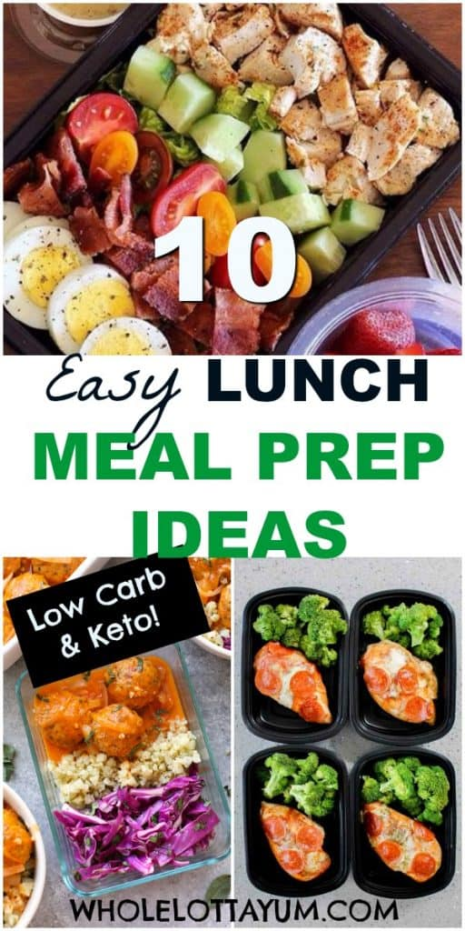 keto lunch meal prep ideas