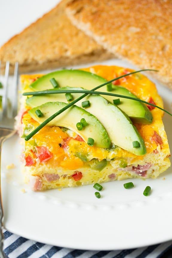 keto denver baked omlete