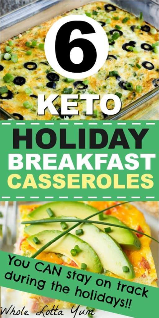 6 keto Christmas breakfast ideas