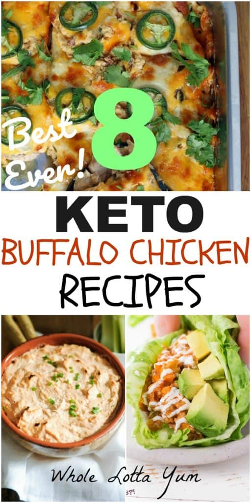 keto buffalo chicken recipes