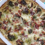 keto brussel sprouts with bacon