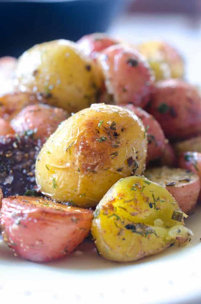 instant pot herb potatoes