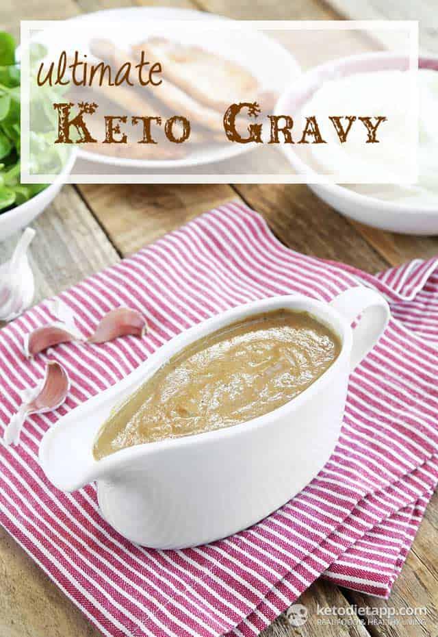 keto gravy recipe