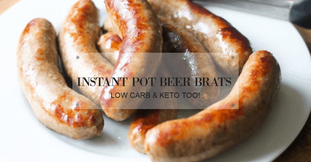 instant pot beer brats