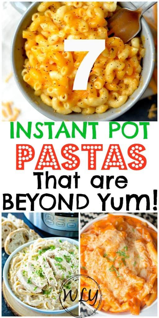 instant pot recipes for pasta