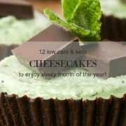 12 low carb and keto cheesecake recipes