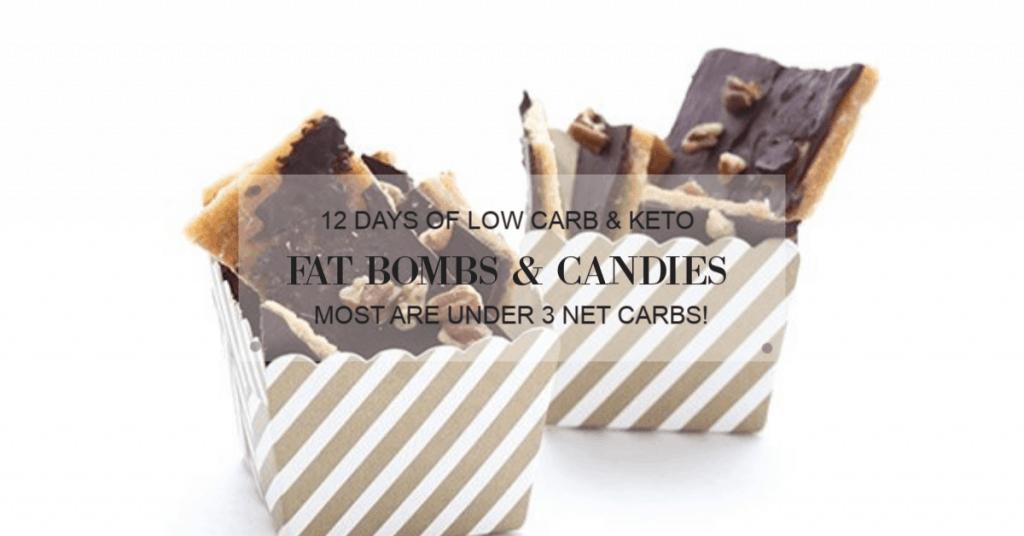 14 Low Carb Keto Treats The Best Holiday Keto Sweet Treats