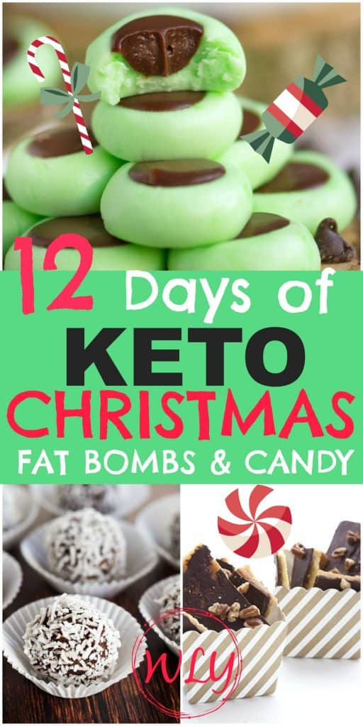 12 keto sweet treats and Christmas fat bombs