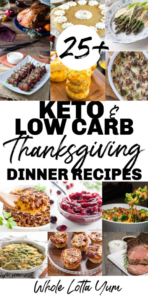 Keto thanksgiving dinner