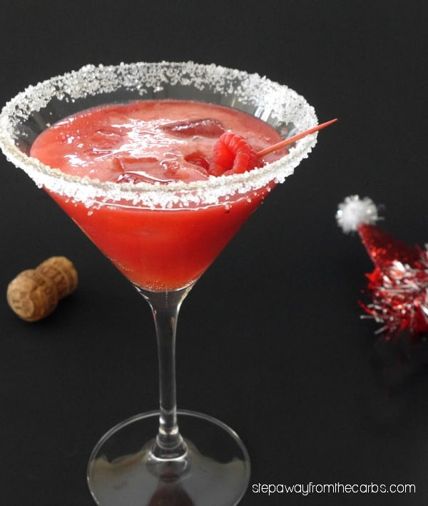 low carb christmas cocktail