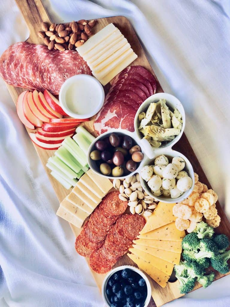 low carb charcuterie boars