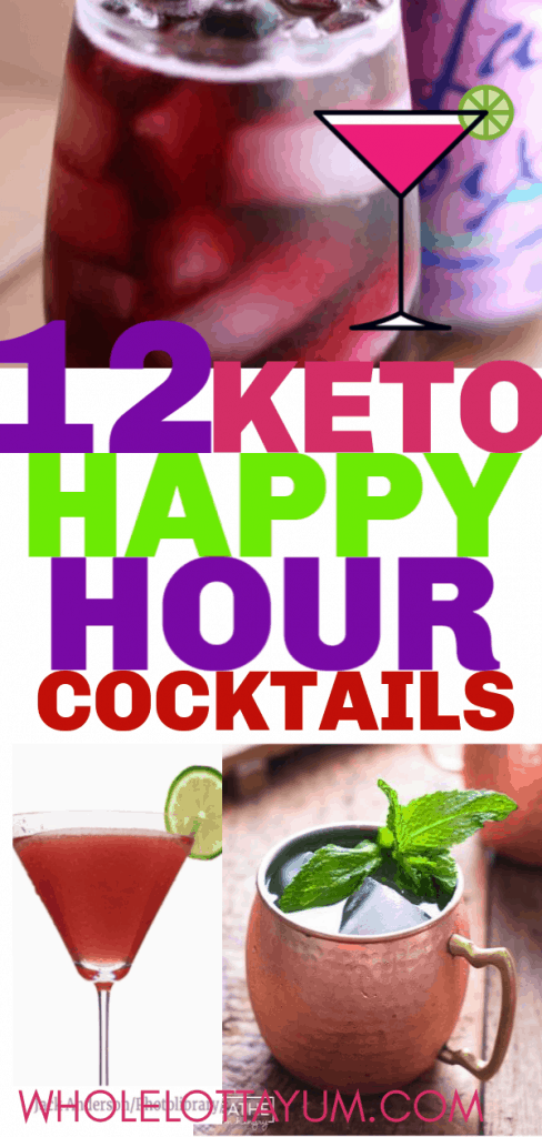 12 low carb and keto cocktails