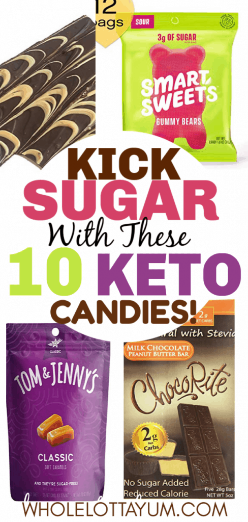 10 keto candy to purchase you need to kick your sugar habit