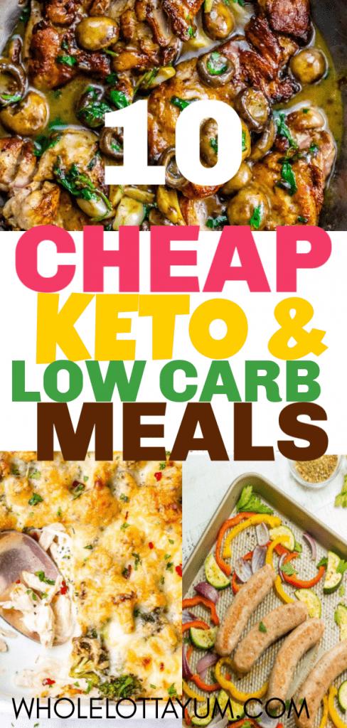 10 Cheap & Easy Keto Dinners