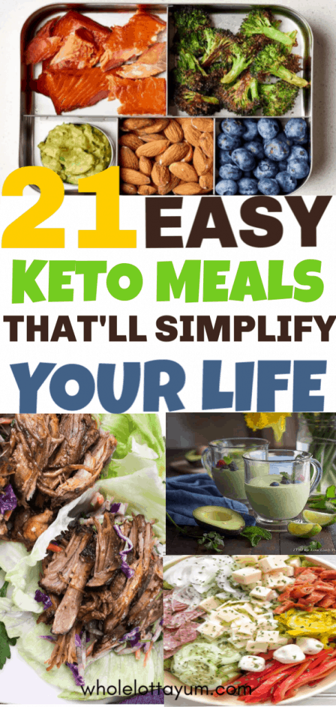 21 Easy Keto Recipes for beginners