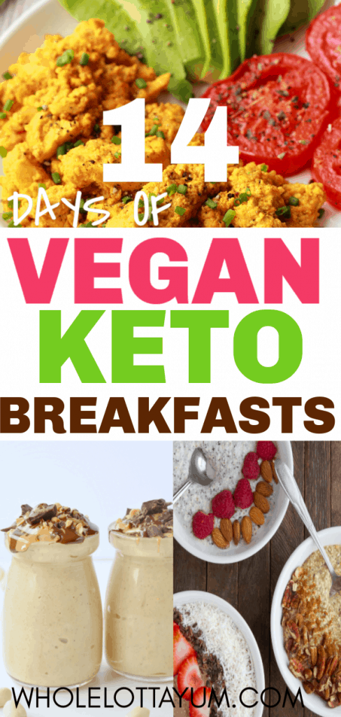 14 vegan keto breakfast recipes