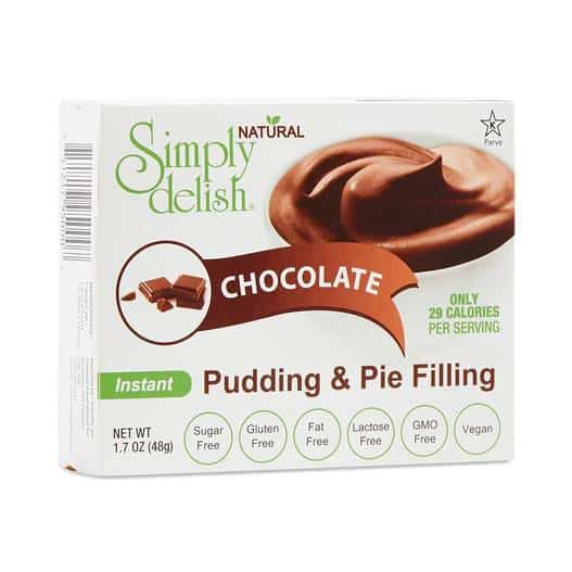 low carb chocolate pudding fromt a low carb store online