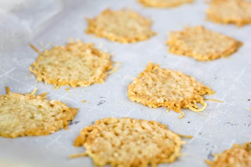 baked-parmesan-crisps