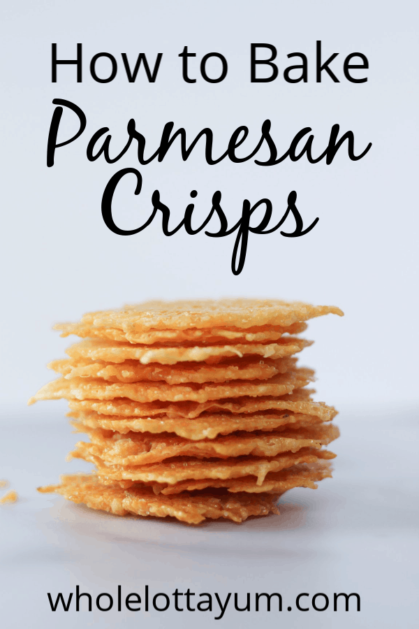 How to make easy oven baked parmesan crips