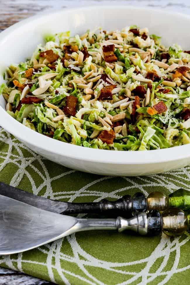 low carb brussel sprouts salad
