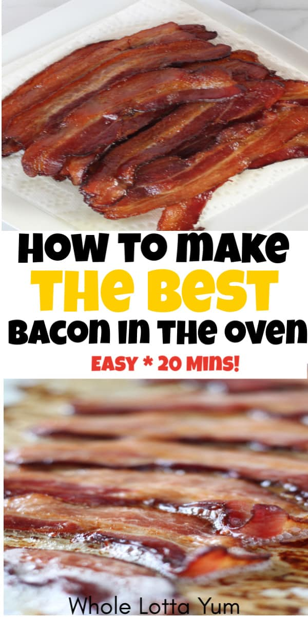 how to make bacon in oven the easy way