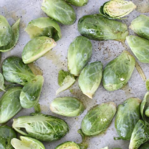 bake brussel sprouts recipe