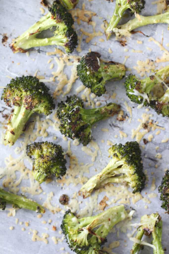 baked garlic broccoli