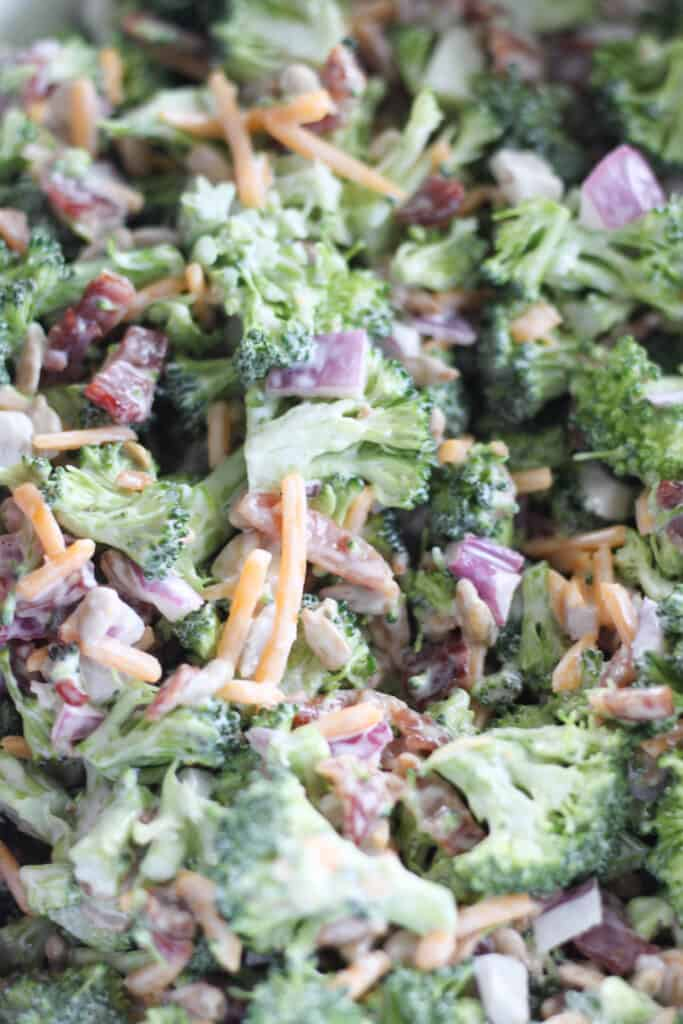 best keto broccoli salad