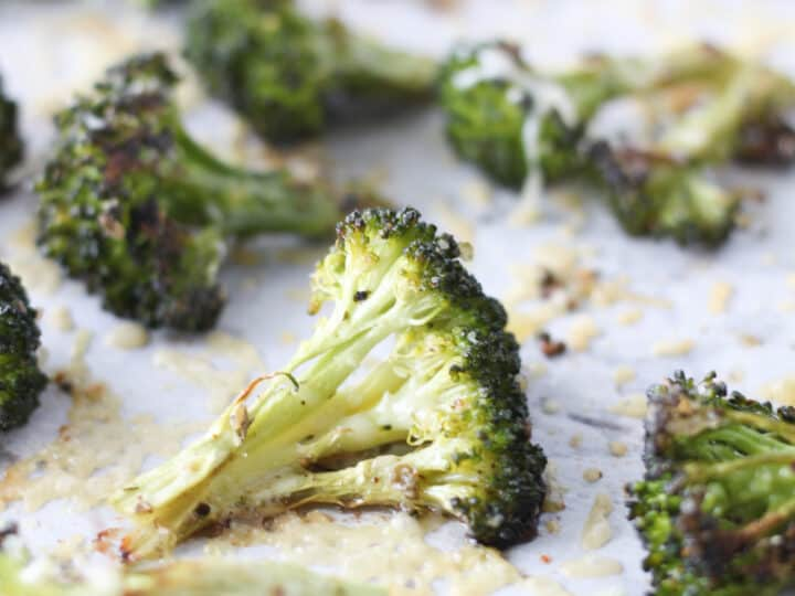 broccoli in oven
