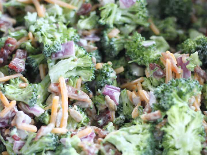 broccoli salad no sugar