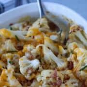 cauliflower casserole keto recipe adds no extra breading or gluten