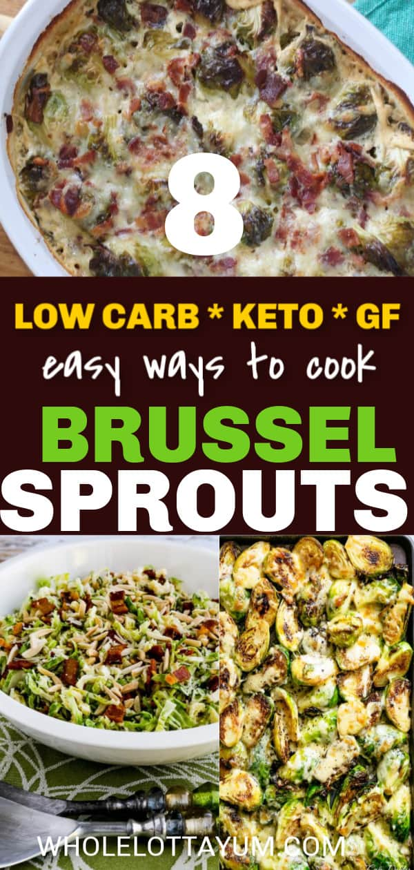 8 easy low carb keto brussel sprouts recipes you'll love.