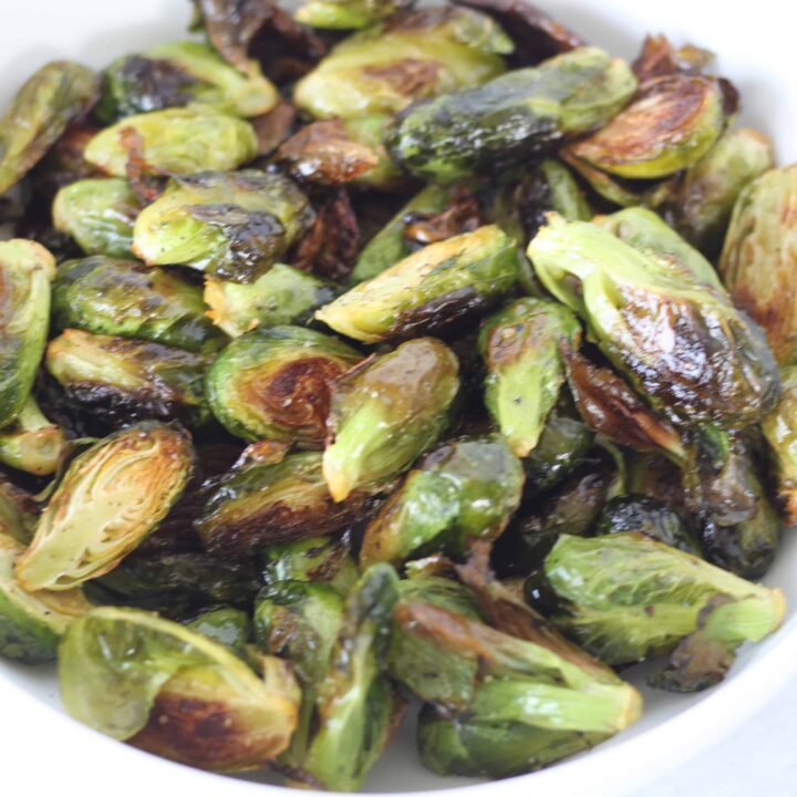 The Best Oven Roasted Brussel Sprouts Recipe